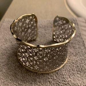 Kendra Scott Candice Gold Cuff Bracelet